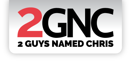 2 Guys Named Chris Logo